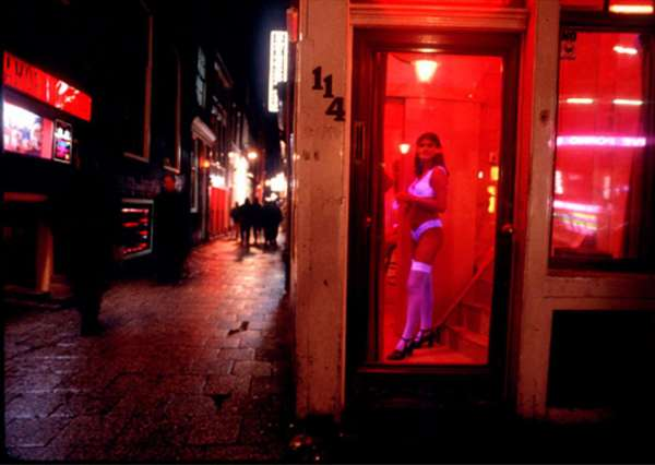 how much is the red light district in amsterdam