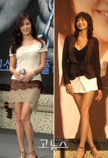 long legs miniskirts models