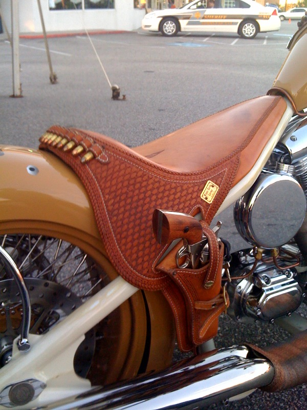 Arizona Motorcycle Seat - The Club House