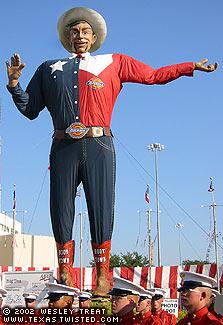 What Should Big Tex Say Innocent Bystanders