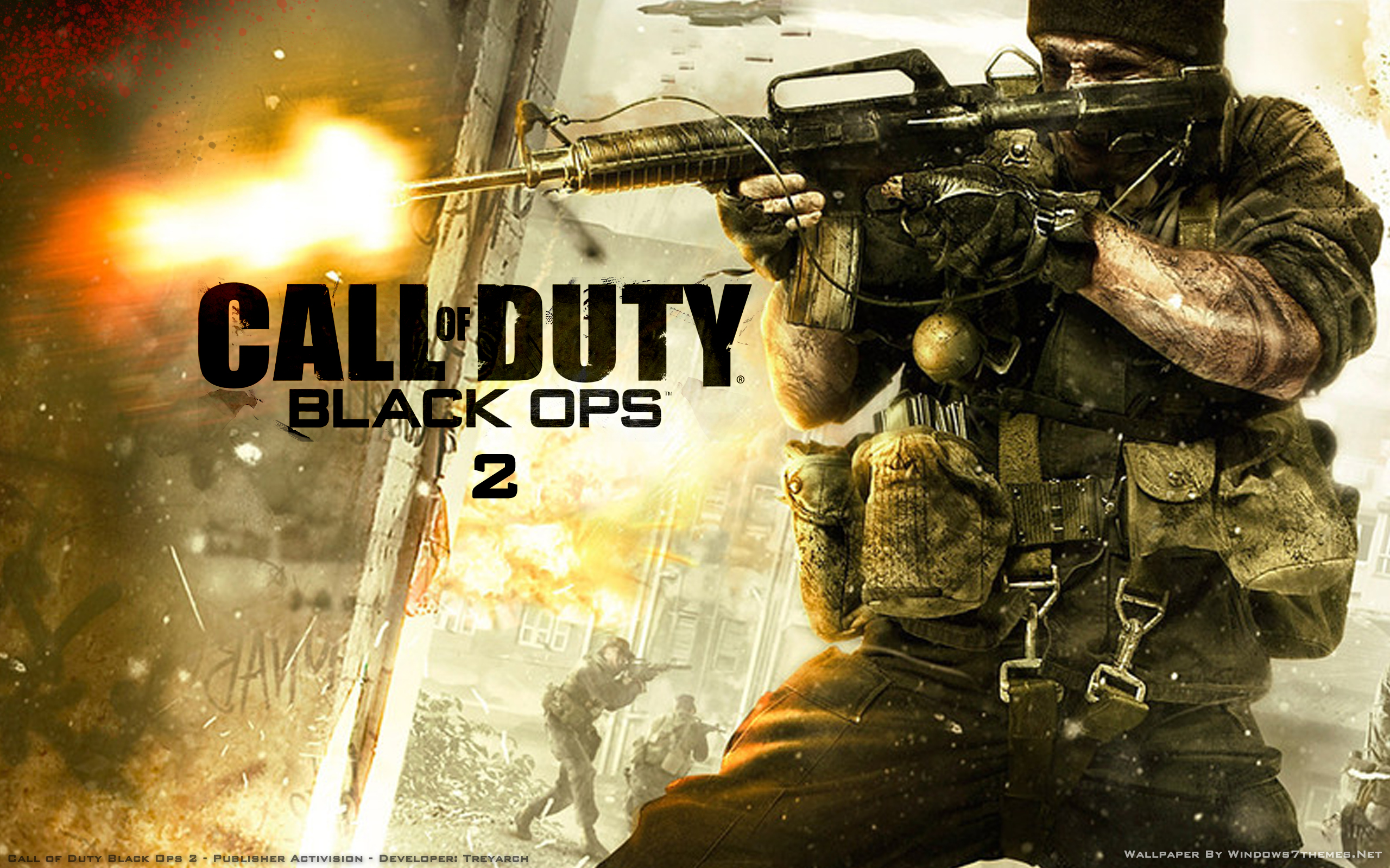 Call Of Duty Bo2 Wallpaper: Black Ops 2 On Black Friday