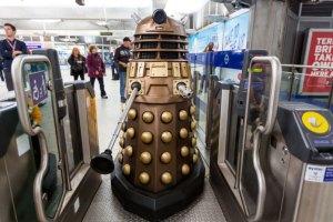 Dalek in the Subway